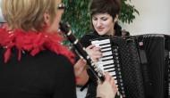Impressionen vom Werkstattkonzert in Benningen: Kommunikationen…