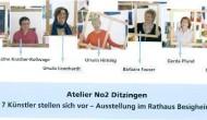 """Vernissage in Besigheim: """"Atelier No.2 Ditzingen"""" zu Gast imRathaus"""