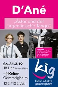 Astor und der ArgentinischeTango
